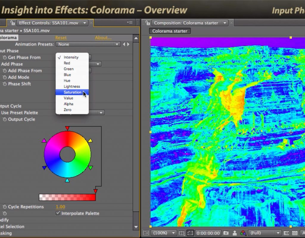 After Effects Classic Course: Colorama 1 – Overview 1