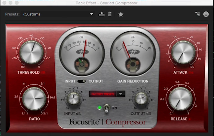Compression: the editor's secret weapon for taming audio 4