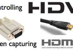Controlling HDV when capturing HDMI or HD-SDI