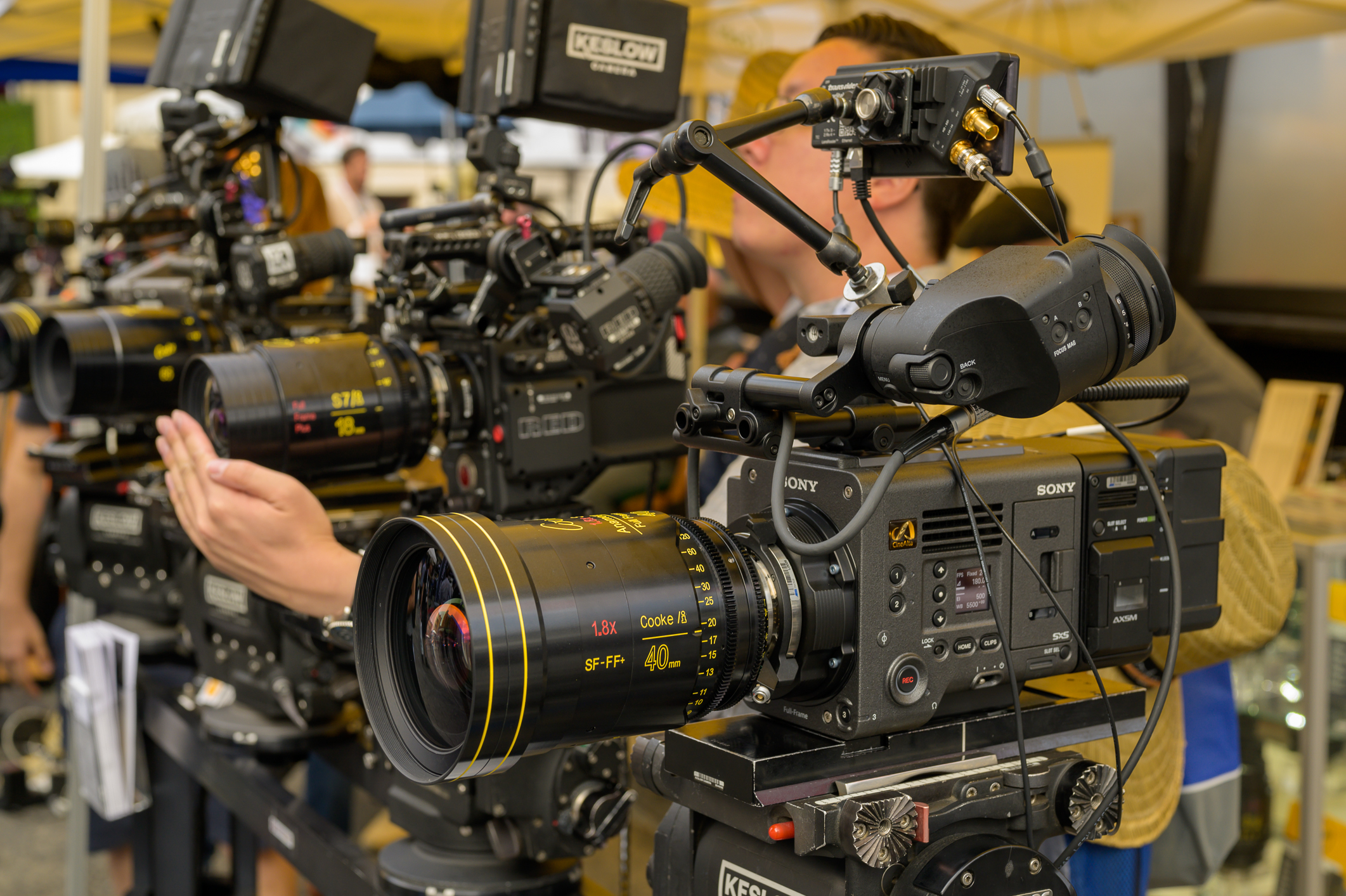 Cine Gear: Cooke Anamorphic/i Full Frame Plus Standard and SF Lenses 2