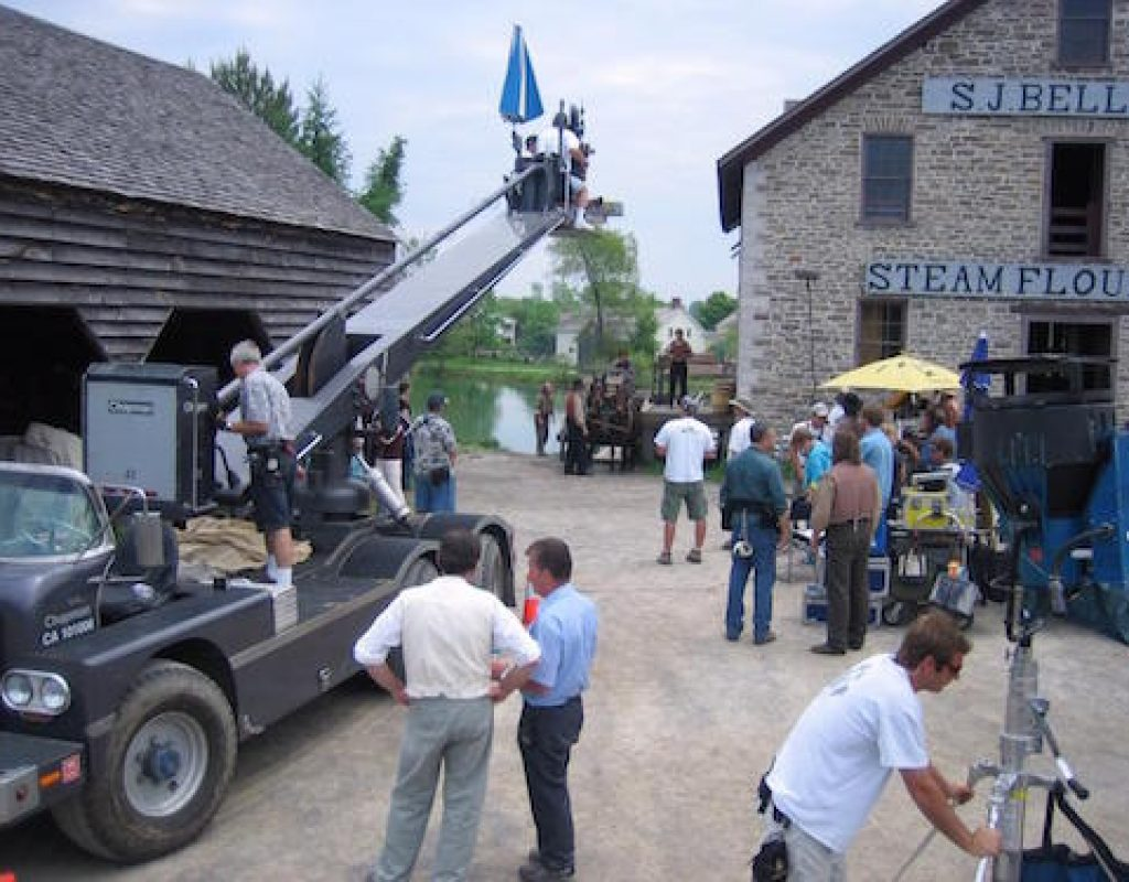 Camera Cranes From the Beginning: 2