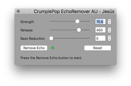 Review: CrumplePop EchoRemover plugin 16
