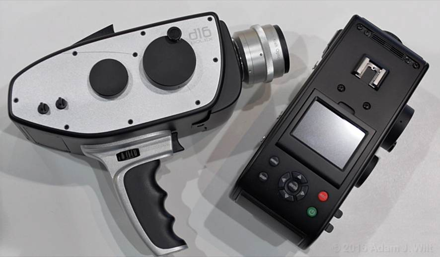 Hidden Flexibility of Blackmagic's URSA Broadcast. A S16mm Camera?