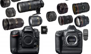 Comparing System Costs for Nikon D4 and Canon 1DX