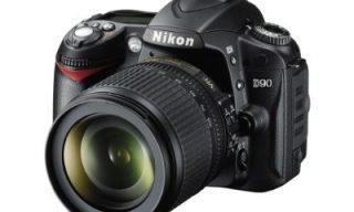 Nikon D90 – nice DSLR that also shoots HD video