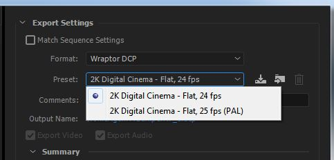 CREATING YOUR OWN DCP'S - PREMIERE PRO CC SETUP 26