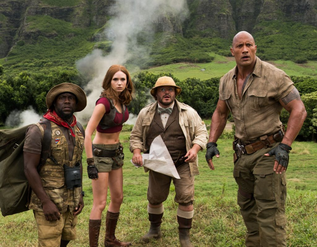 ART OF THE CUT on editing JUMANJI: Welcome to the Jungle 1