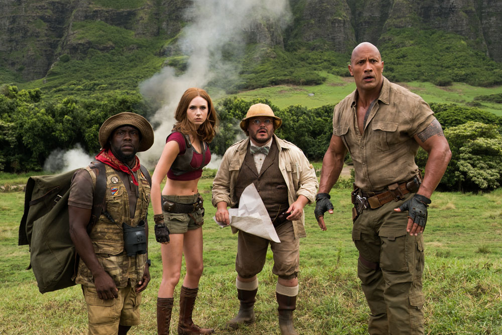 ART OF THE CUT on editing JUMANJI: Welcome to the Jungle 11