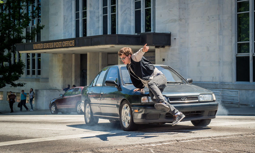 ART OF THE CUT with Paul Machliss on Baby Driver 10