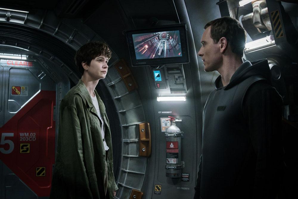ART OF THE CUT on Ridley Scott's Alien: Covenant 21