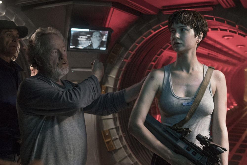ART OF THE CUT on Ridley Scott's Alien: Covenant 15