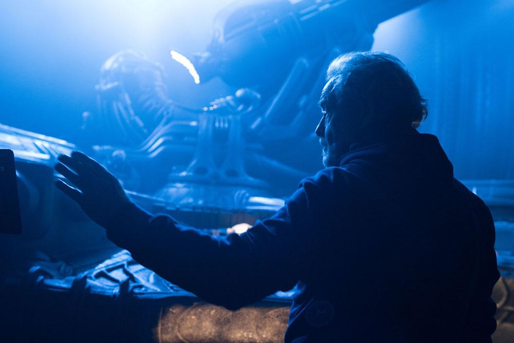 ART OF THE CUT on Ridley Scott's Alien: Covenant 12