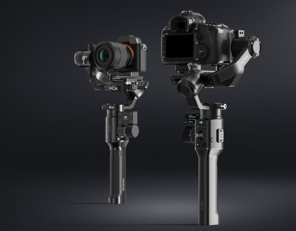 DJI: new Osmo and Ronin handheld camera stabilizers at CES 2018