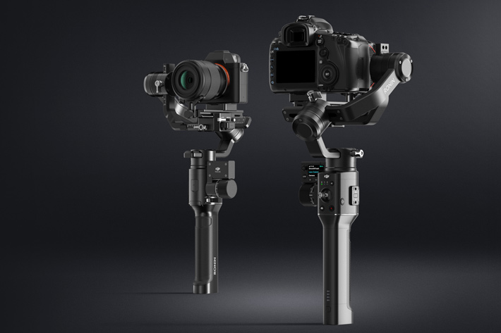 DJI: new Osmo Mobile 2 and Ronin-S stabilizers at CES 2018