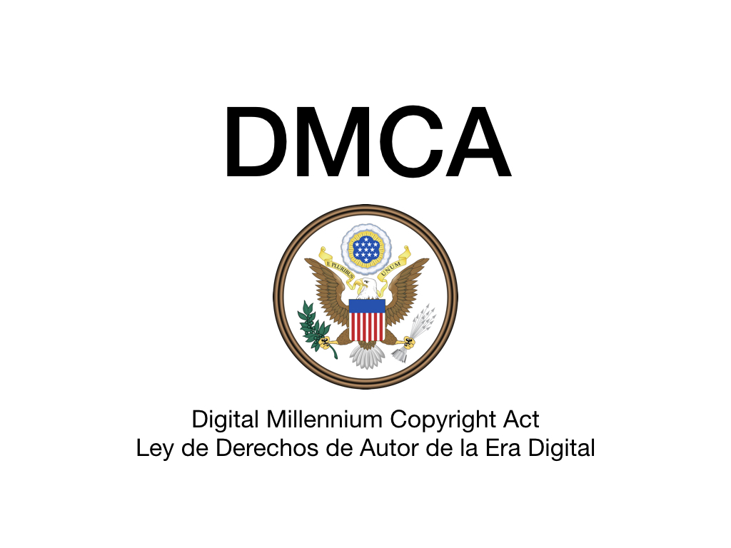 I sent my first DMCA takedown letters