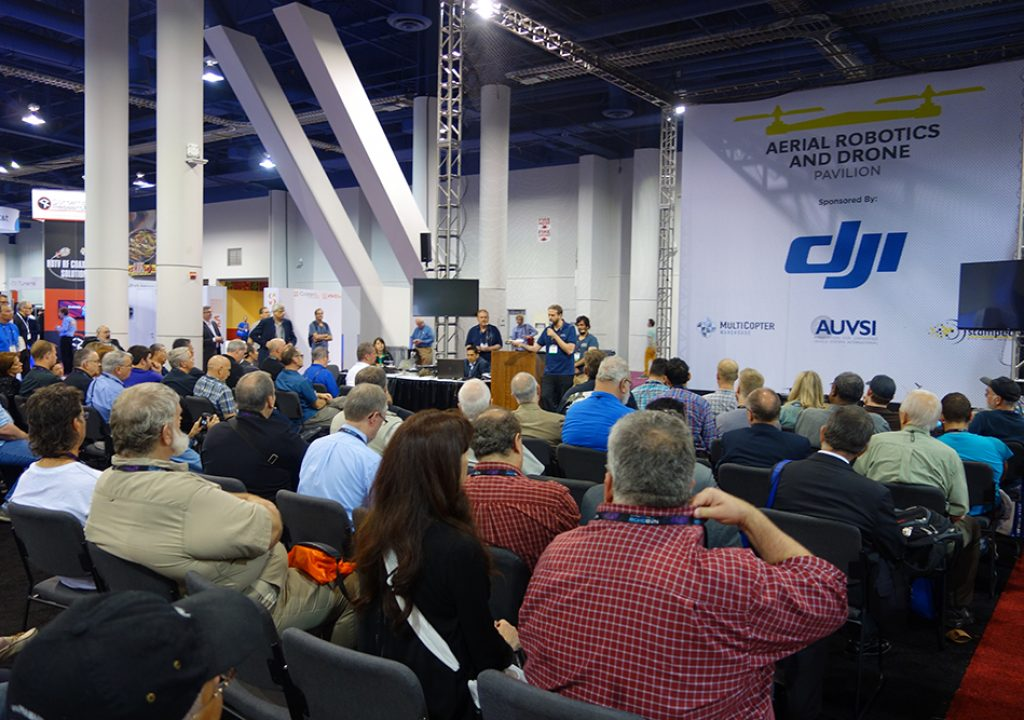 PVC at NAB 2015 - Step Inside the Aerial Robotics and Drone Pavilion 1