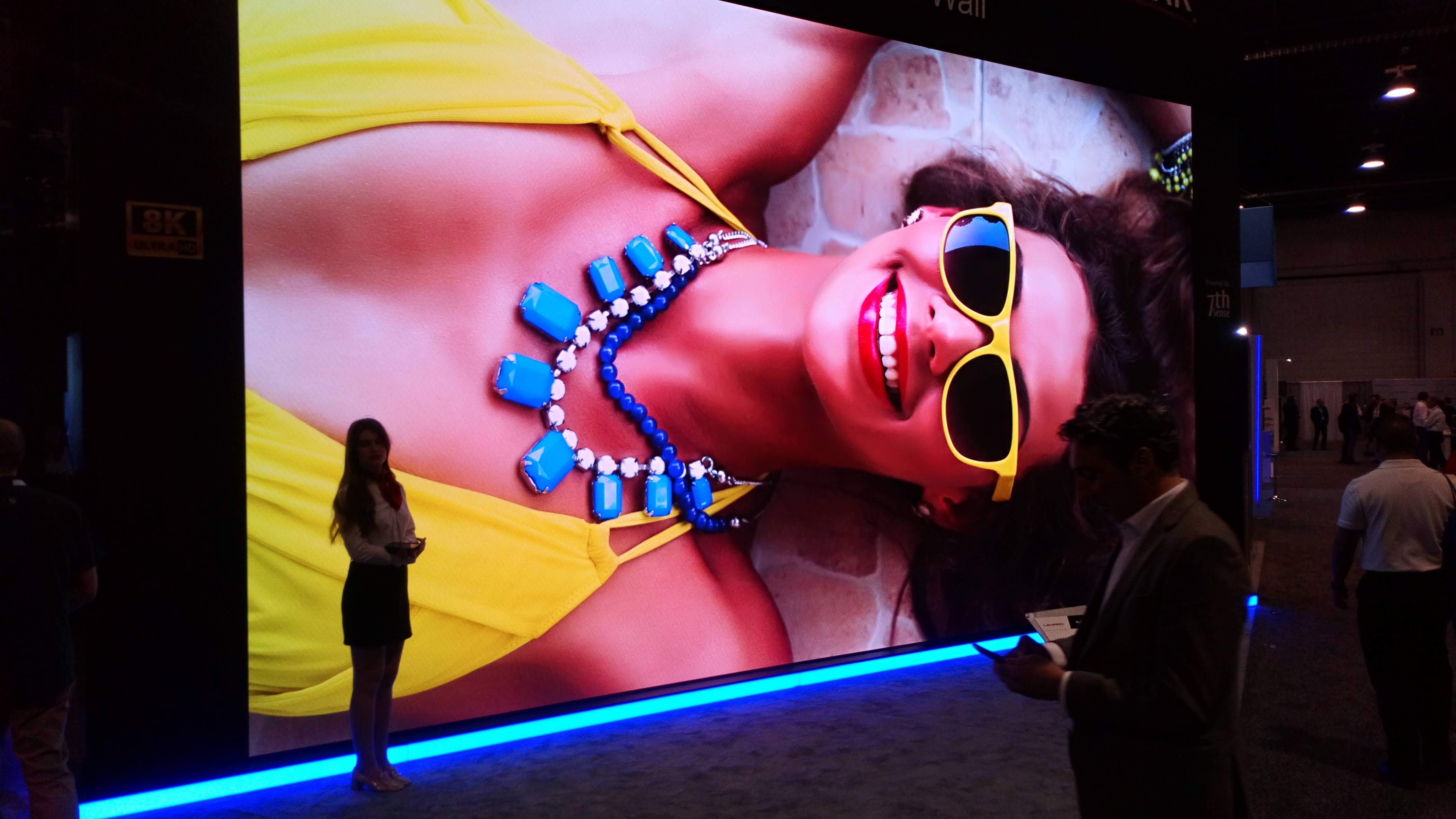 LED video walls. Amazing technology, not all the same 4
