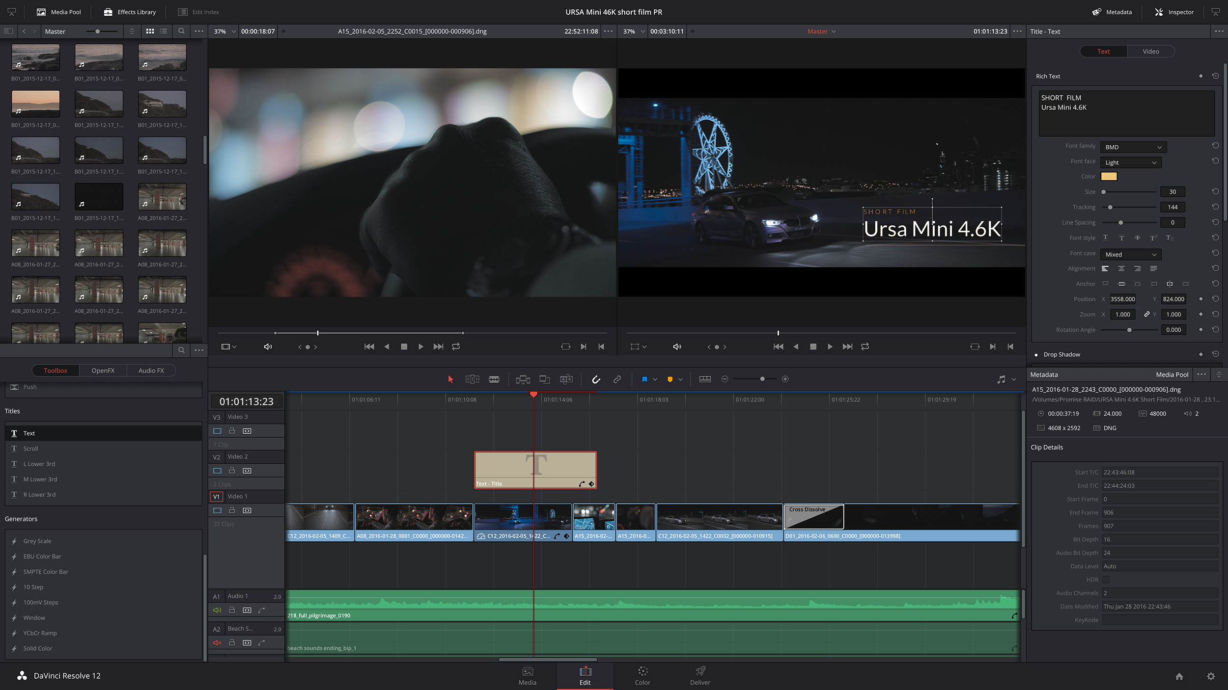 Blackmagic DaVinci Resolve 12 5 1 Released