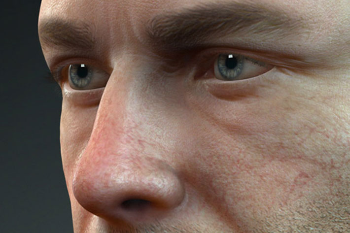 A new digital human shader for realtime human rendering