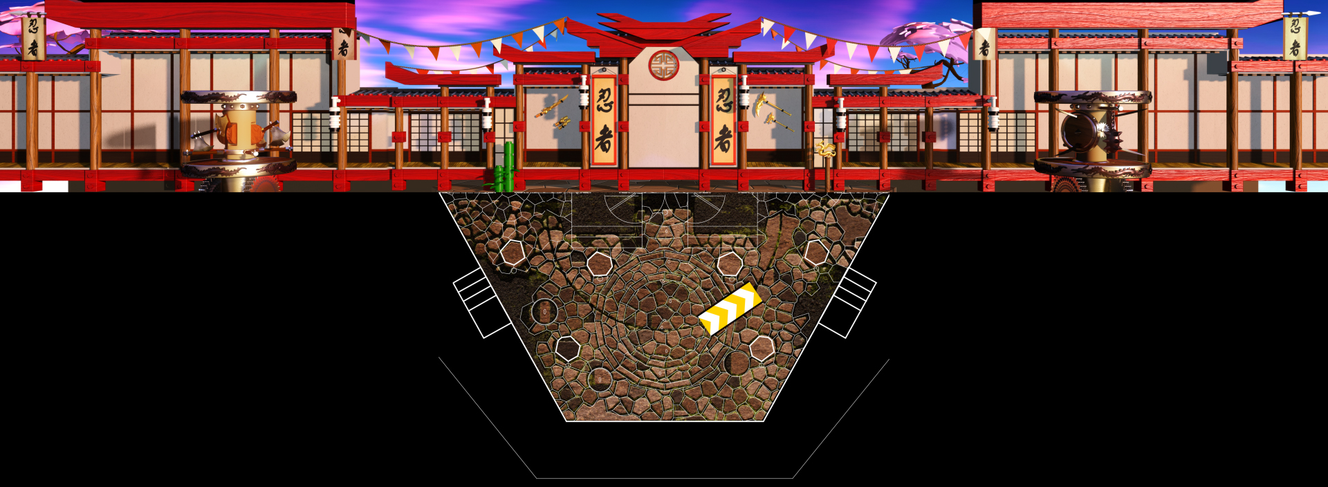 Dojo BackgroundPlate FinalComp