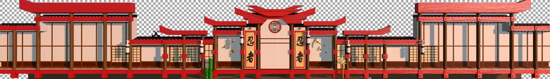 Dojo BackgroundPlate Raw3D