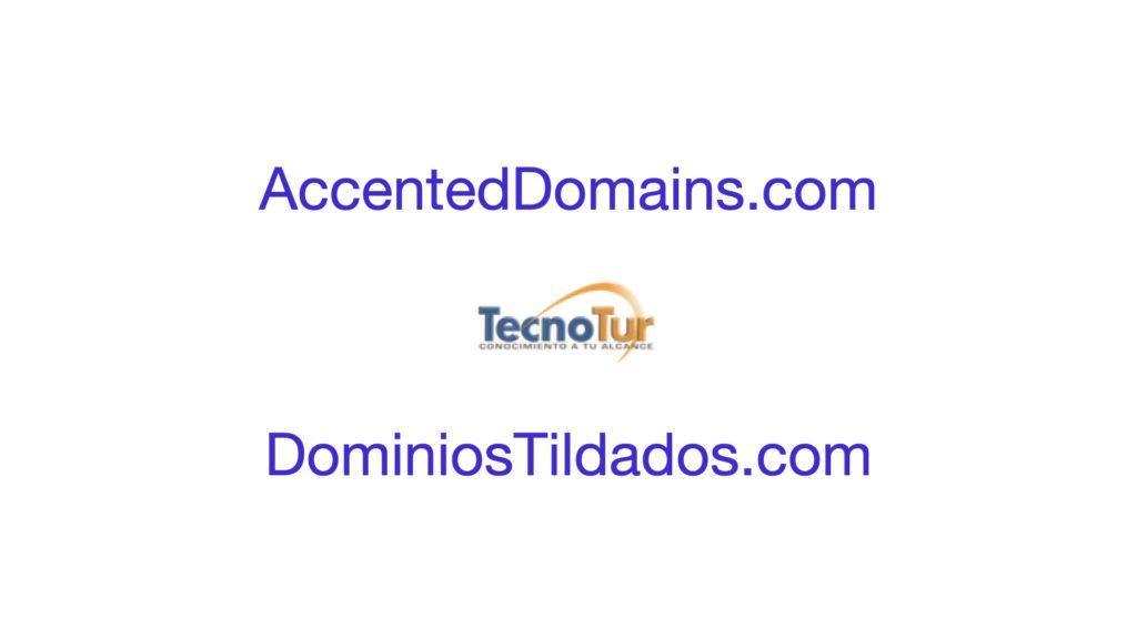 Accented domains for websites, including ñ or diaeresis/tréma/umlaut 3