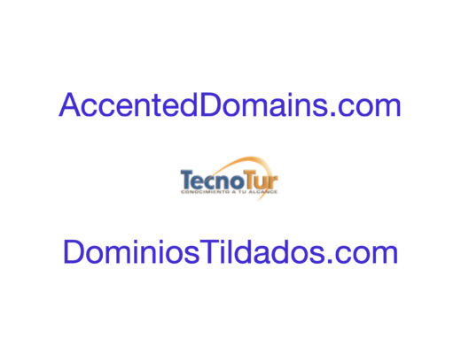 Accented domains for websites, including ñ or diaeresis/tréma/umlaut 7