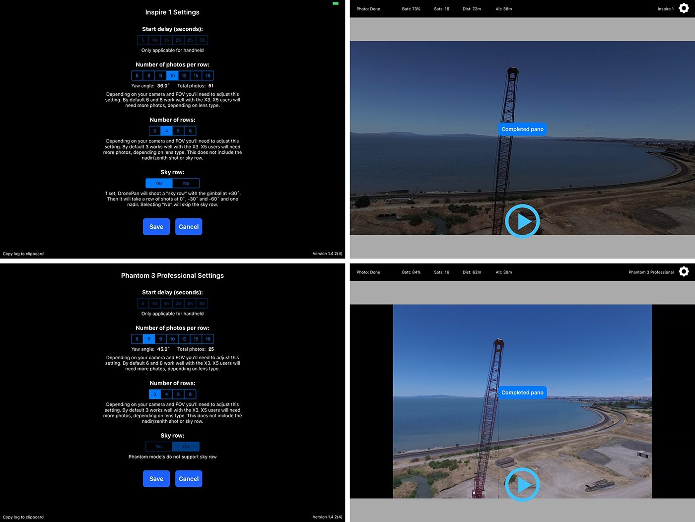 How to shoot and create aerial 360 panoramas - Part 1 4