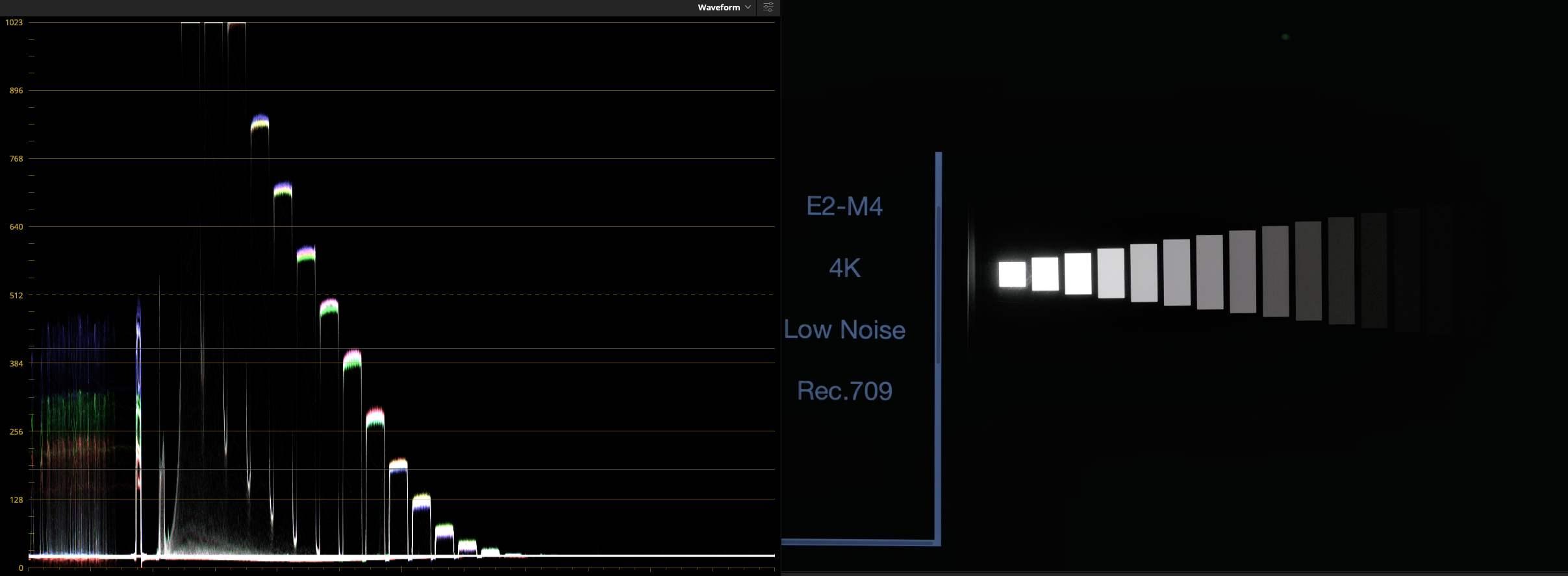 E2-M4, Rec.709, Low Noise