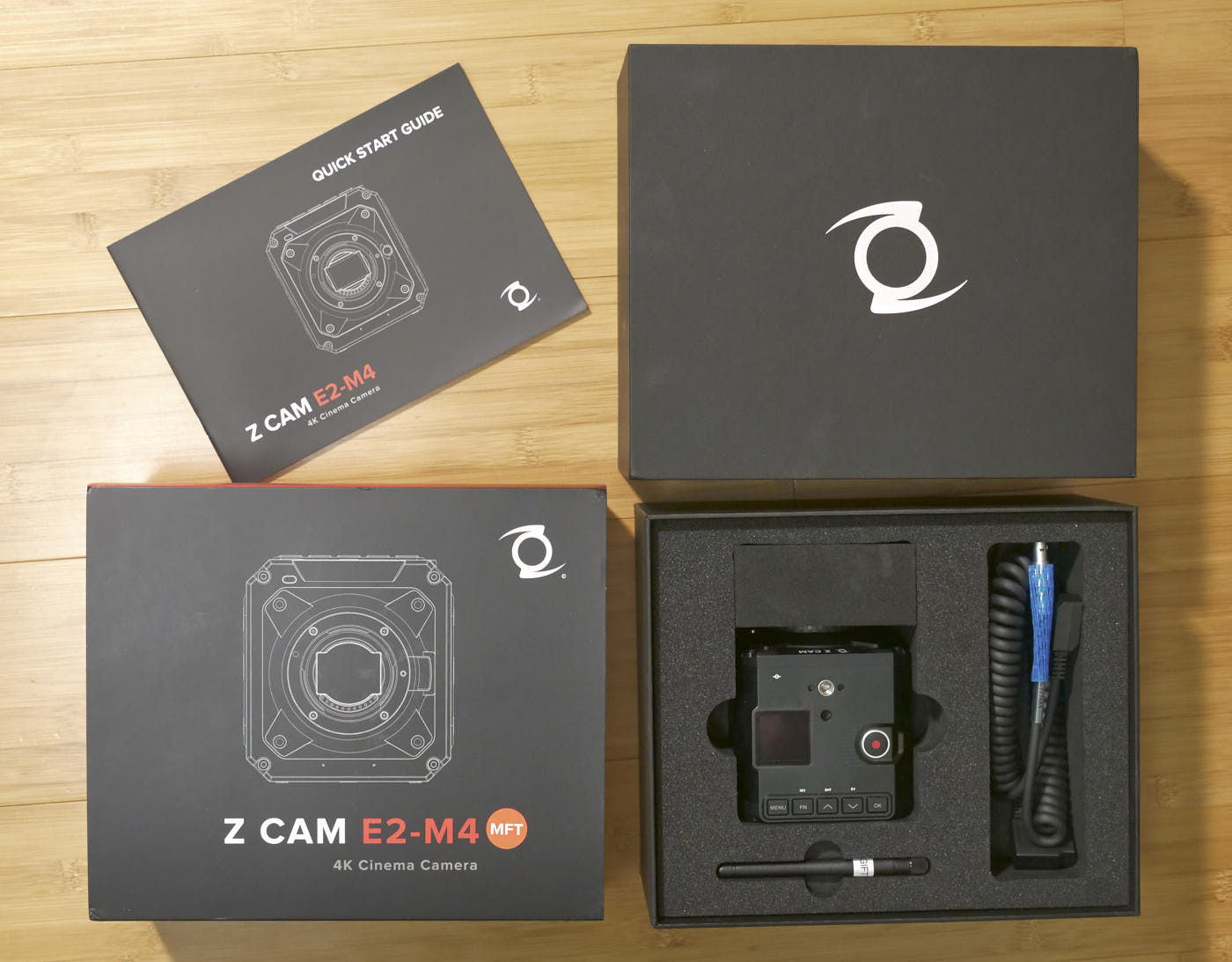 Z Cam E2-M4, as delivered