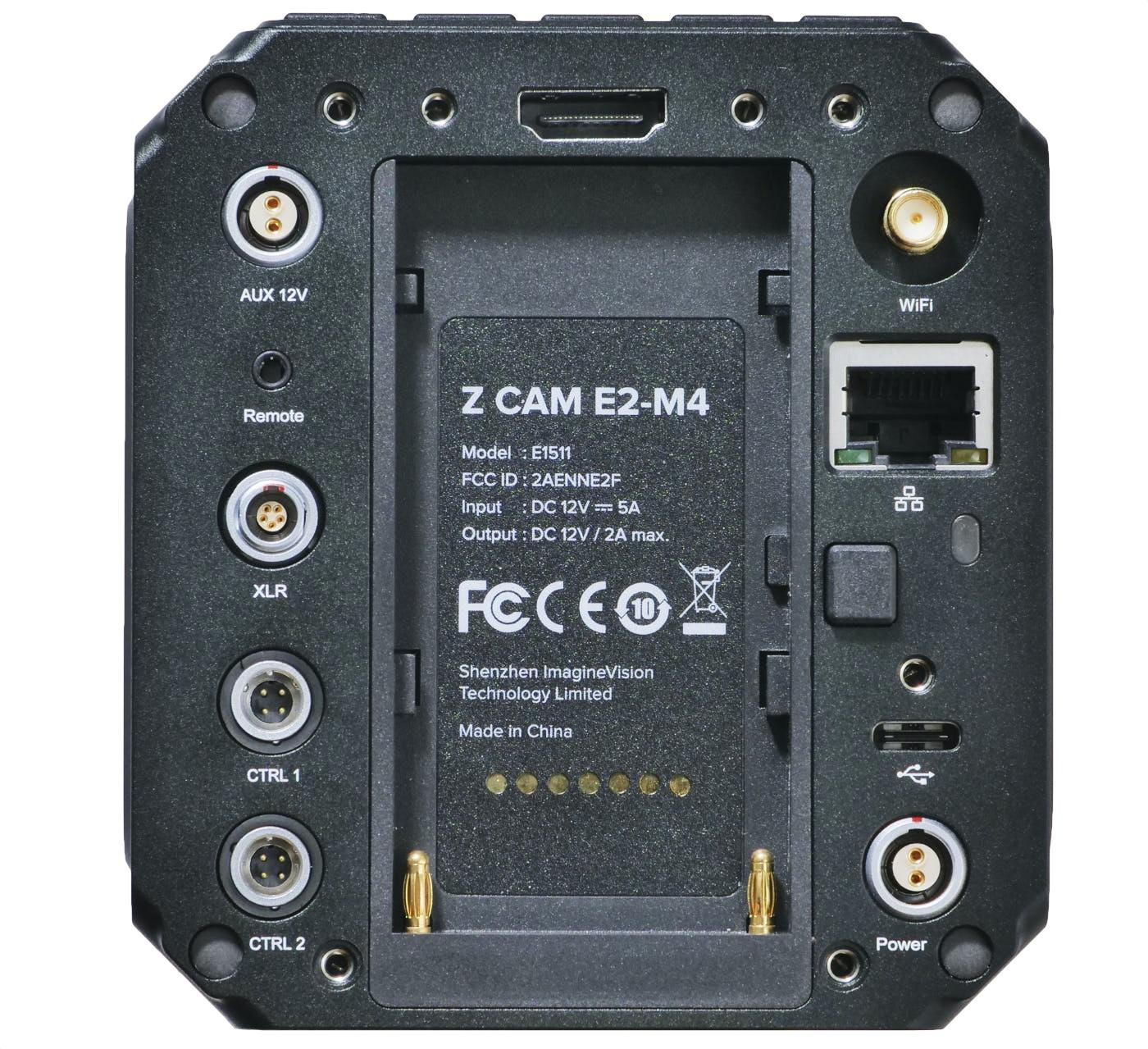 Z Cam E2-M4 back