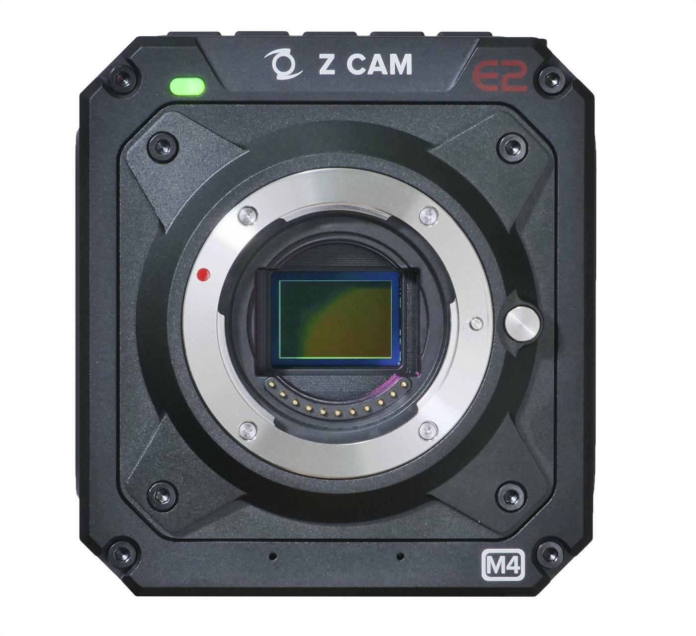 Z Cam E2-M4, showing its 4/3 sensor