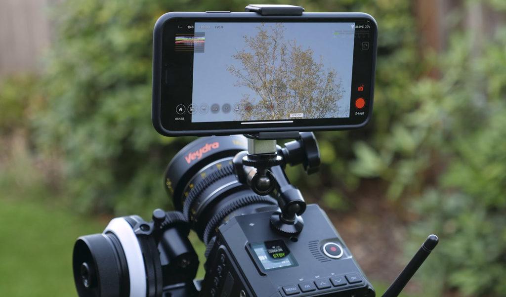 Using Z Camera as a monitor/controller