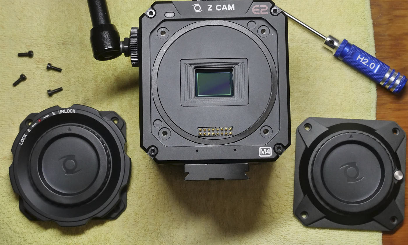 E2-M4 with two MFT mounts