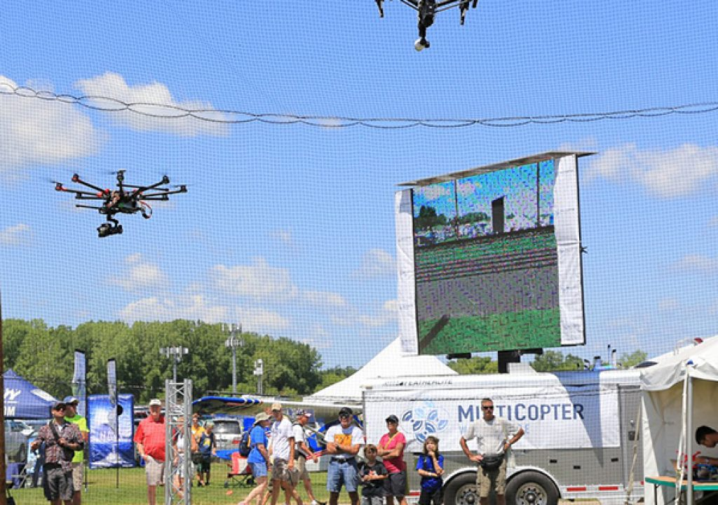 UAVs Debut at World's Largest Air Show 1
