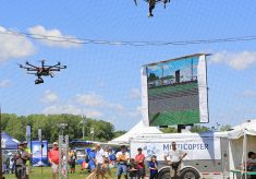 UAVs Debut at World's Largest Air Show