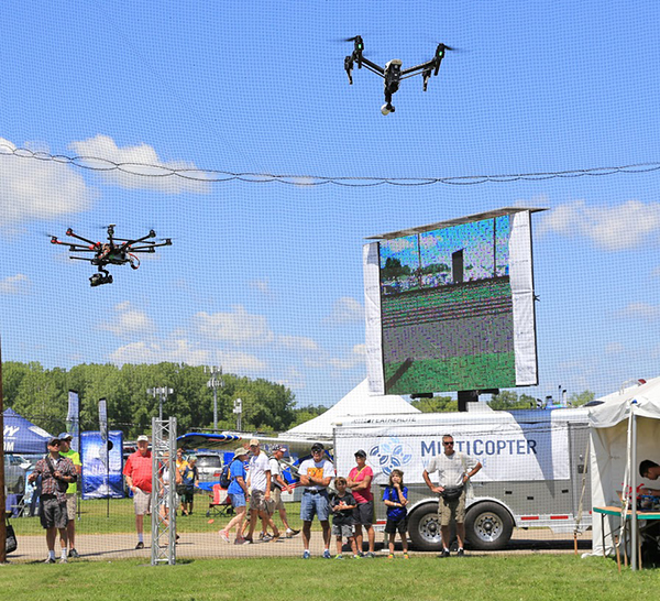 UAVs Debut at World's Largest Air Show 2