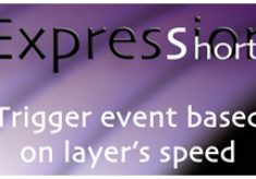 Expression Shorts – Trigger Event Based On Layer's Speed