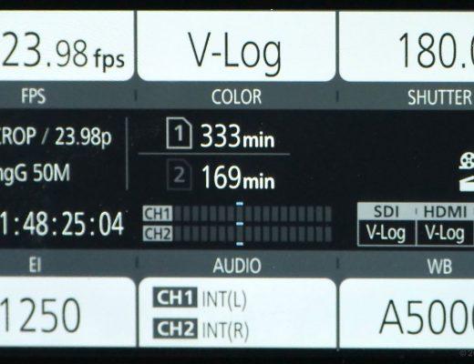 Review: Panasonic AU-EVA1 4K Cine Camera, part 2