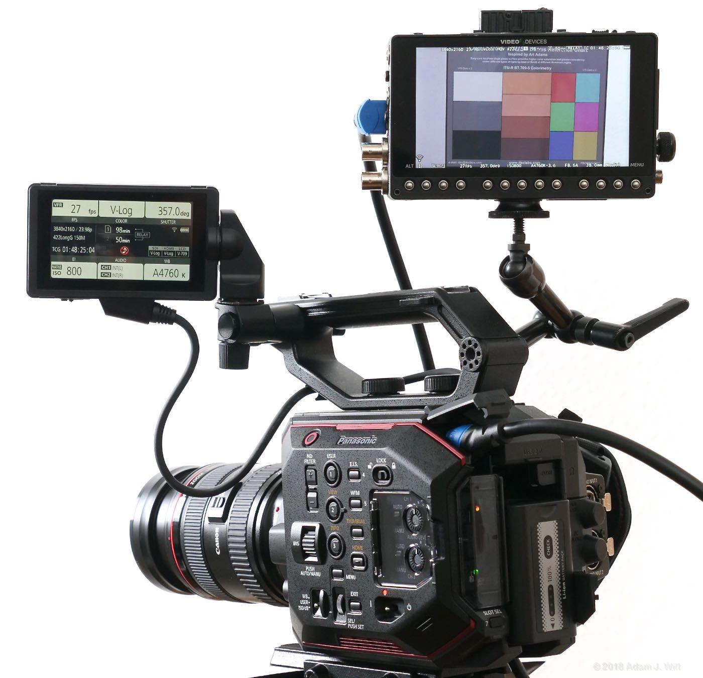 Review: Panasonic AU-EVA1 4K Cine Camera, part 3 by Adam