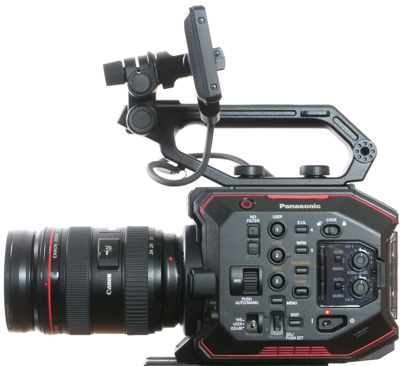 Review: Panasonic AU-EVA1 4K Cine Camera 1