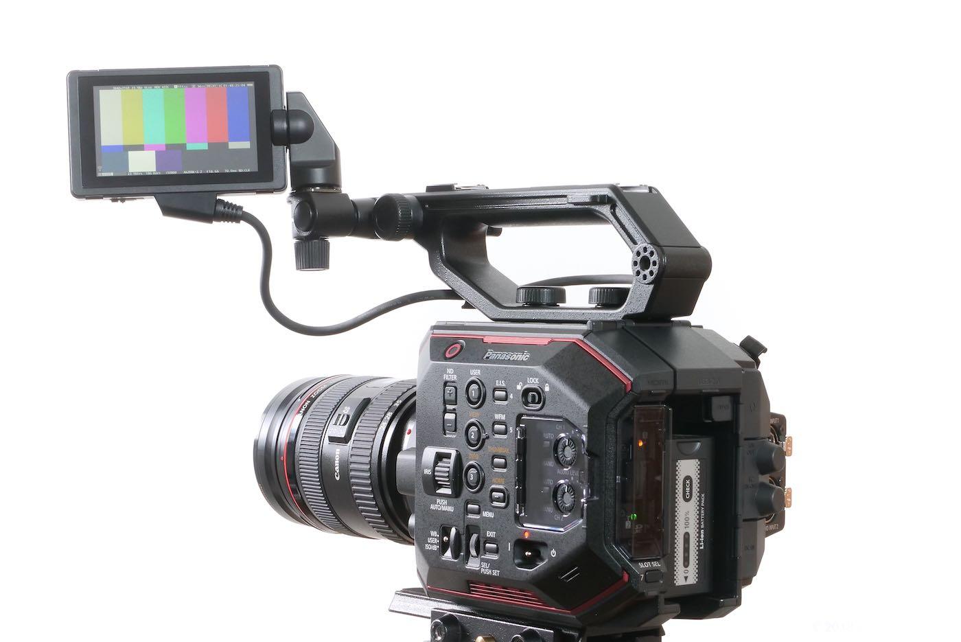 EVA1 LCD monitor mounting