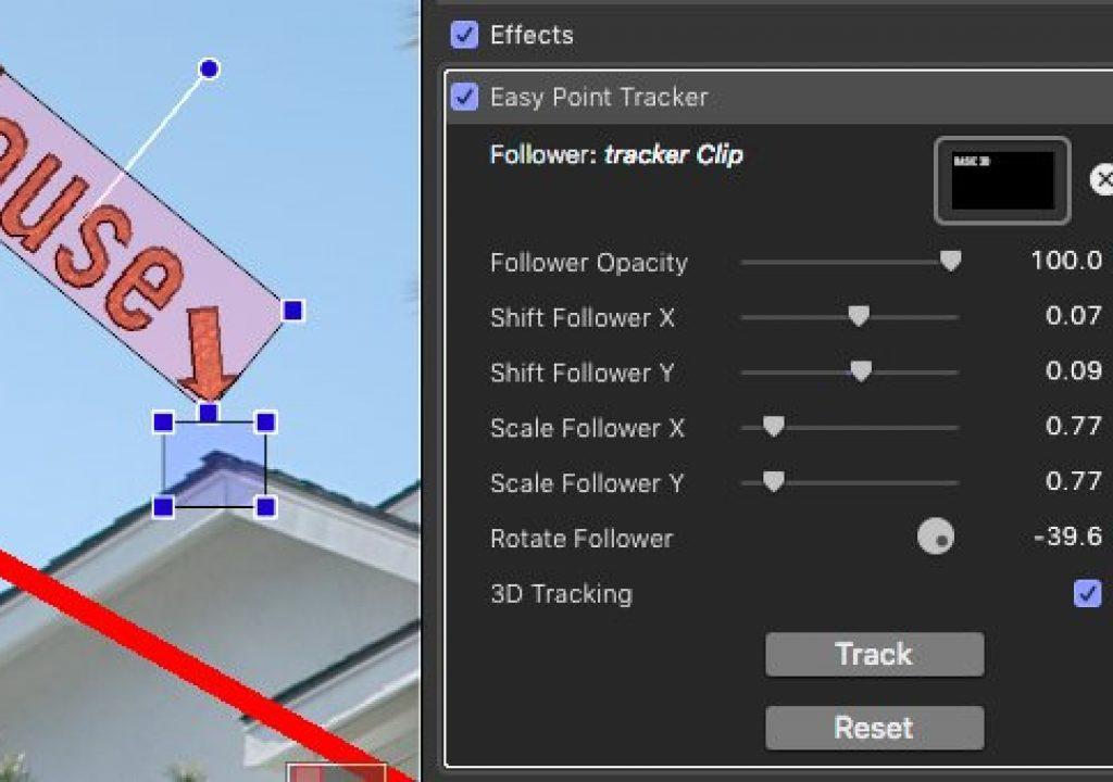 EasyTracker point tracker