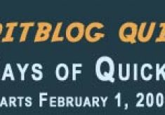 28 Days of Quicktips