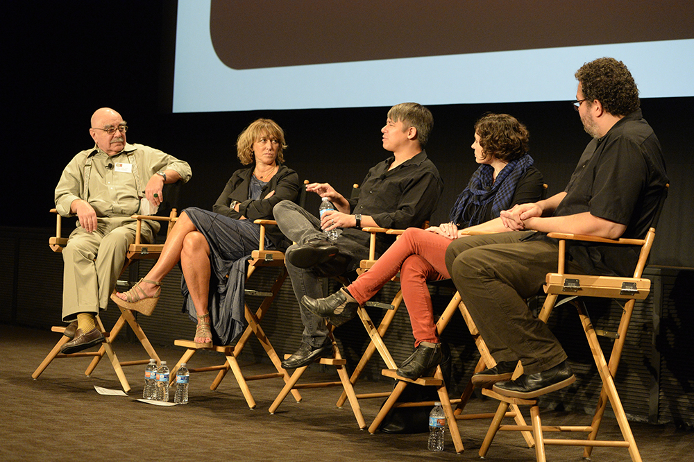 Editfest LA Panelists Heim Bonora Cross Haight Smith
