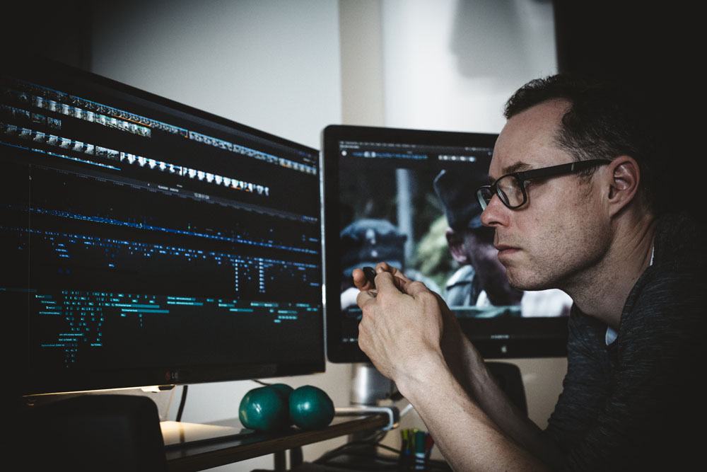 "ART OF THE CUT with Ben Mercer on editing ""Unknown Soldier"" in FCP-X 3"