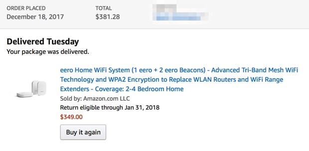 Eero appears to have solved most of my home's wifi problems 1