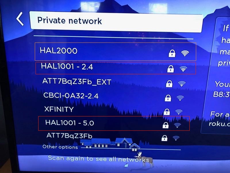 Eero new networks