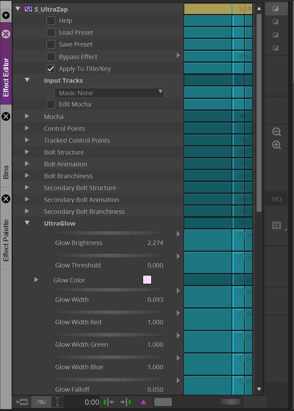 Sapphire 2021 - S_UltraZap Effect Editor