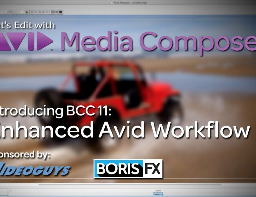 Let's Edit with Media Composer – BCC 11's Advanced Avid Workflow 2